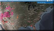 ESRI Fire Mapping on the Web image