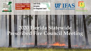 All Florida Prescribed Fire Council Meeting Logo