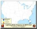 Lightning & AHPS Observed Percipitation image