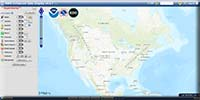 National Weather Service Enhanced Data Display Image