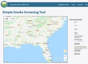 Simple Smoke Screen Tool